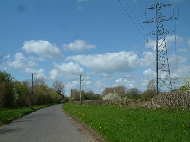 Road Scene, West Hampshire