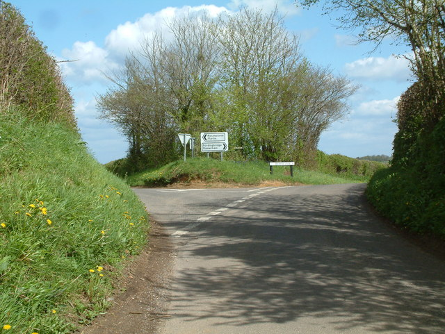 Road Junction, west of Damerham