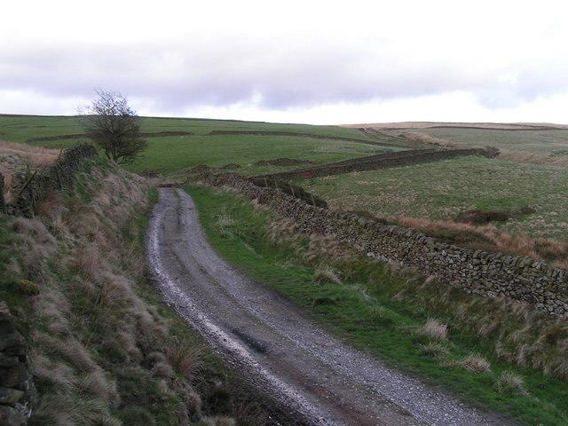 Track above Beet Farm