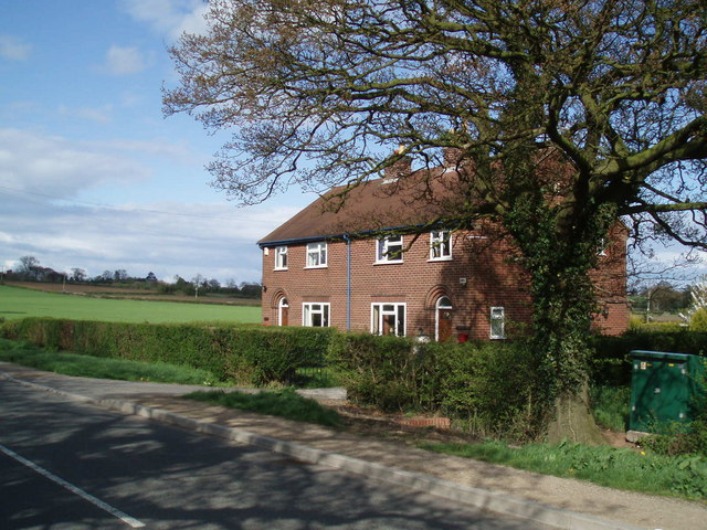 Houses nr. Higham on the Hill