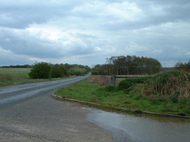 Roman Road towards Roydon.