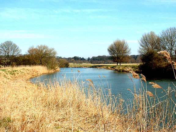 River Nene at Ferry Meadows