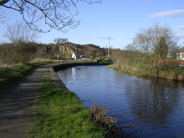 Forth and Clyde Canal near Auchinstarry