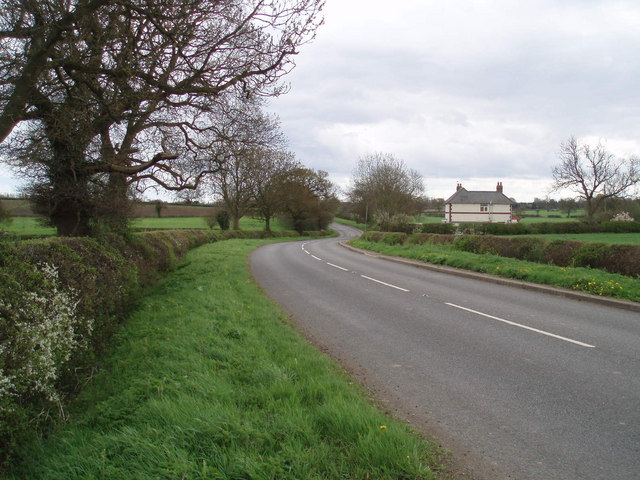 Road south of Stoke Golding