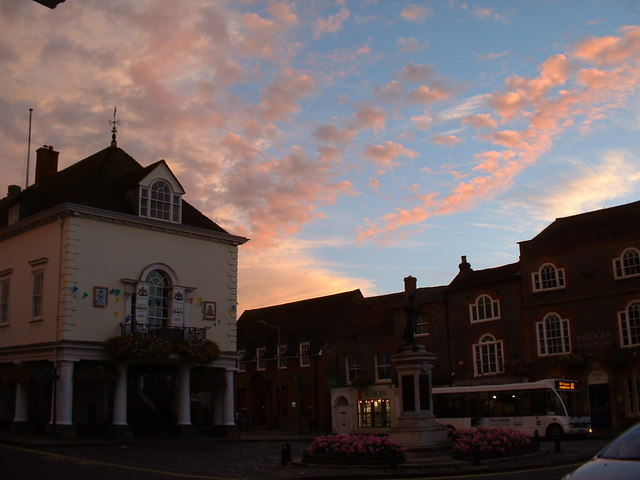 Wallingford town centre.