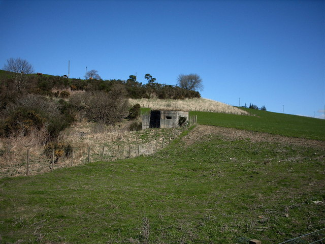 WWII Pillbox, near Keith