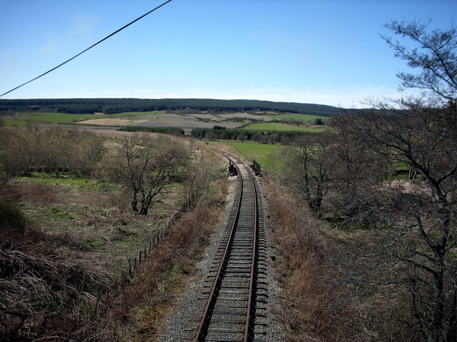 Keith and Dufftown Railway,near Douglasbrae.