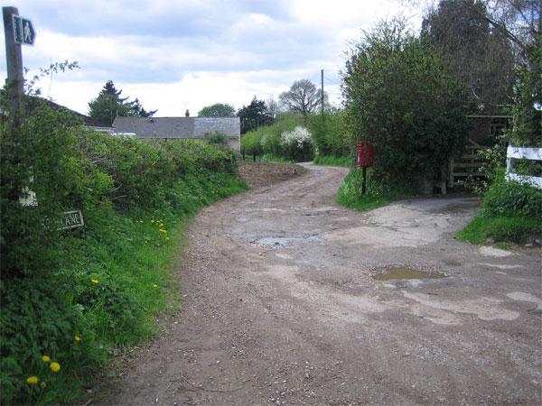 Donkey Lane, Lane End