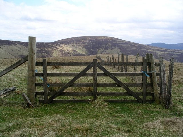 Gate and fence, Seathope Rig