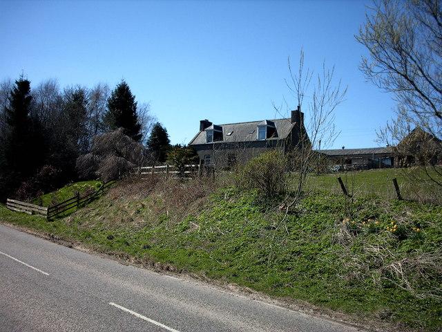 Bridge of Towiebeg Farm,near Drummuir.