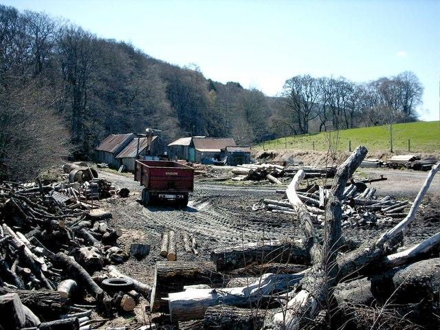 Sawmill on Drummuir Estate.
