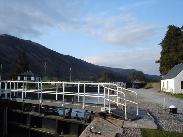 South Laggan Lock ,Caledonian Canal