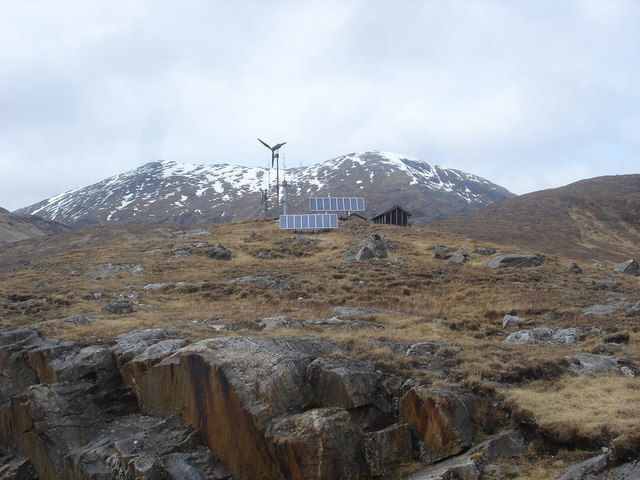 Modern Communications Loch Quoich Renewable energy