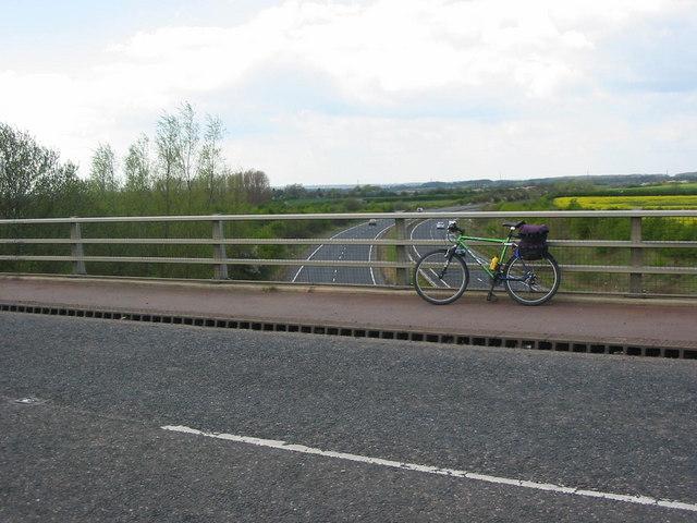 Love's Hill Bridge over the A47