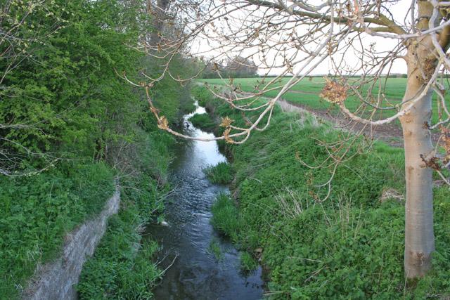 The River Whipling near Granby, Nottinghamshire