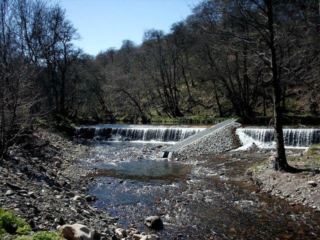 Weir on Dullan Water,Dufftown