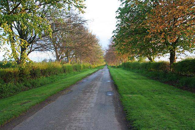 Manor Lane near Whatton, Nottinghamshire
