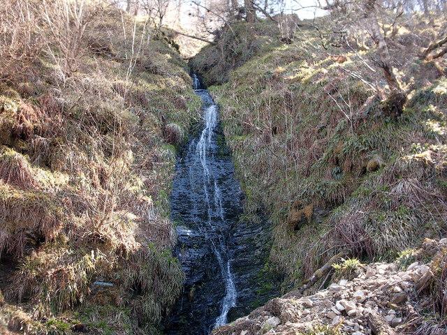 The Linen Apron Waterfall, Dufftown