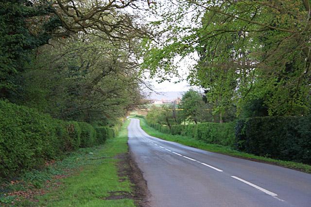 Granby Lane near Whatton Manor, Nottinghamshire