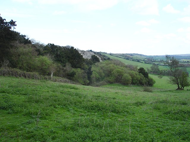 View SE along the North Downs