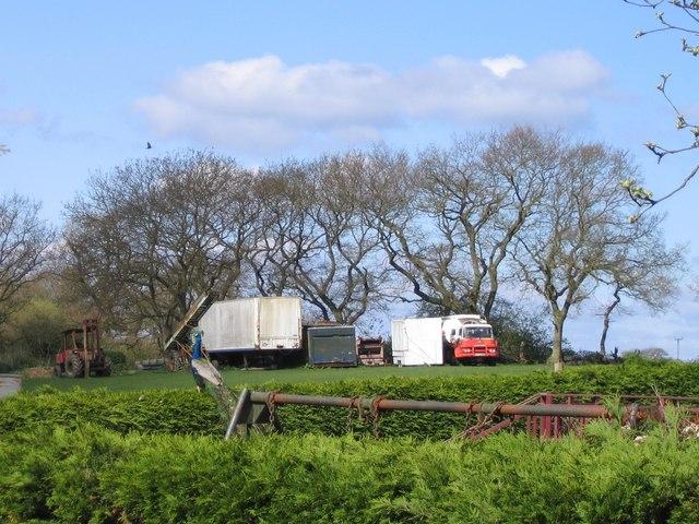 Abandoned lorries, Poringland