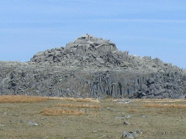 Summit mound of Glyder Fach