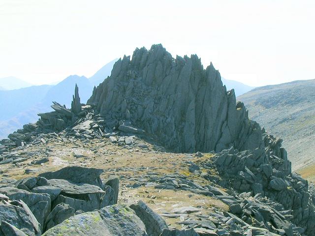 Castell y Gwynt on Glyder Fach