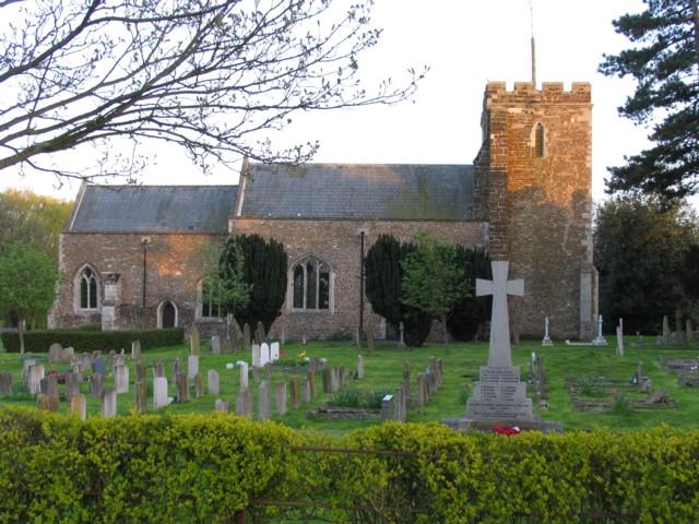 Church and War Memorial Roxton