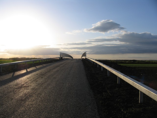 Bridge over bypass