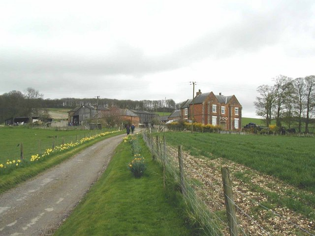 Yorkshire Wolds farm