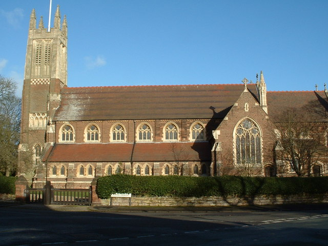 Saint Agnes Church (Side View)