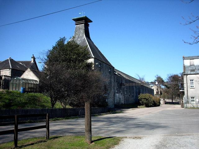 Mortlach Distillery, Dufftown.
