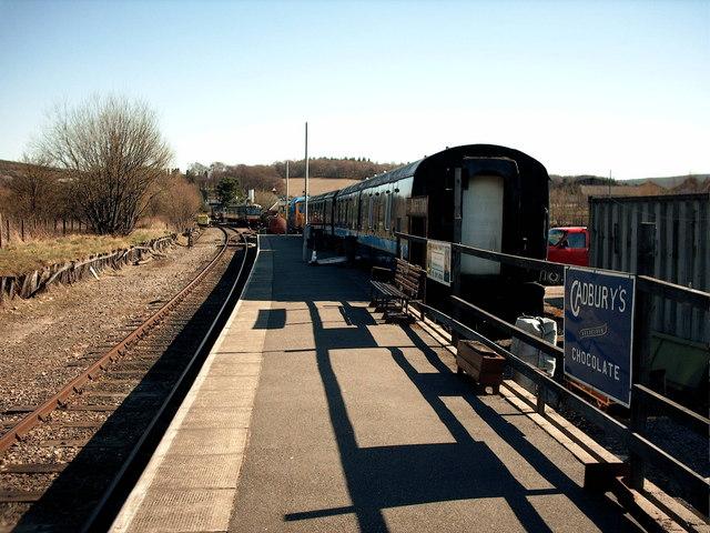 Dufftown Station.
