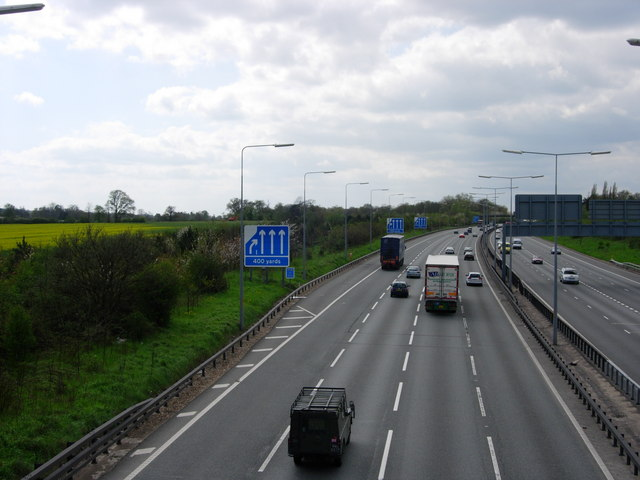 M25 Motorway - West