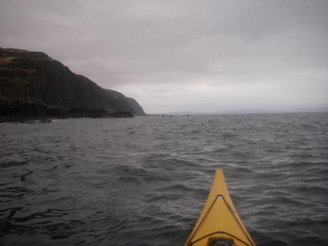 Seascape off Rubha na Codha, Mull