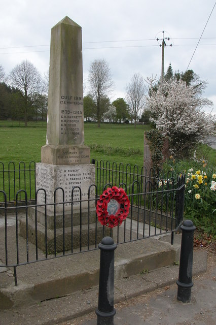 War Memorial at Purslow