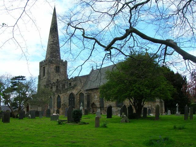 All Saints' Church, Sawley