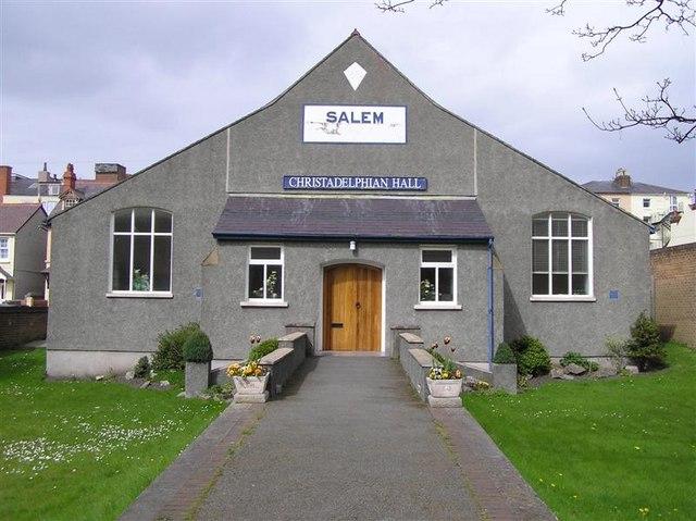SALEM Christadelphian Hall, Llandudno