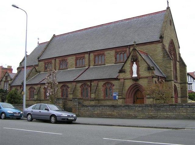 Eglwys Gatholig /RC Church, Llandudno