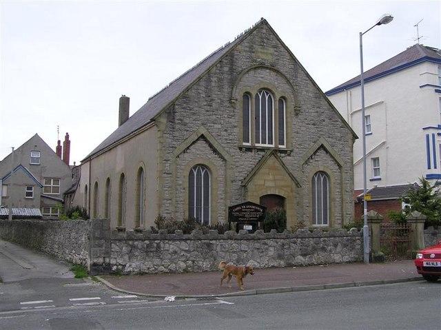 Capel Yr Annibynwyr -Independent  Chapel, Llandudno