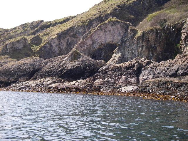 Sea Arch on Garvellachs