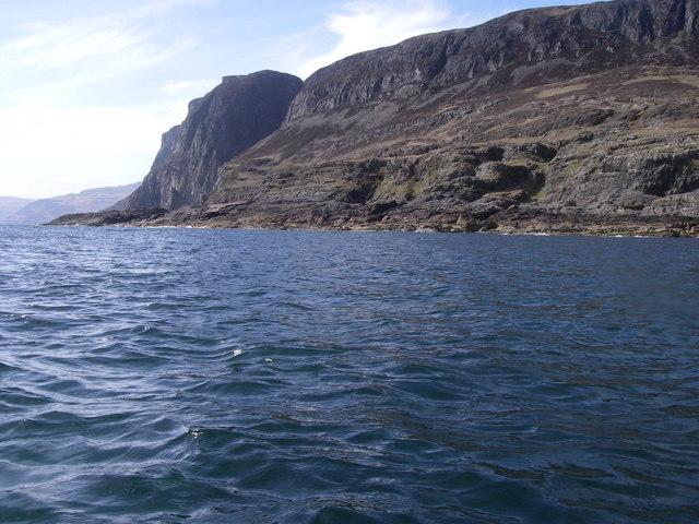 Coast of Mull from Frank Lockwood's Island