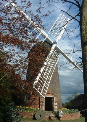 Berkswell Windmill in spring