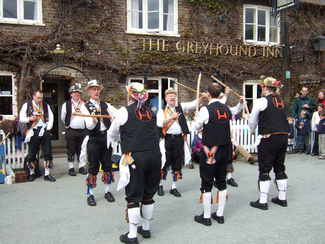 Morris Men on May Day