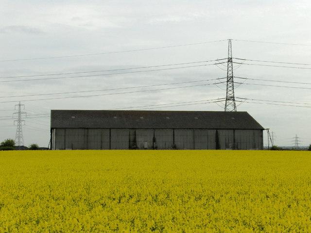 North Killingholme Airfield - Old Hangar