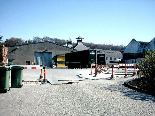 Glenfiddich Distillery, Dufftown.