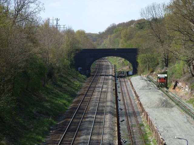Railway at Gerrard's Cross
