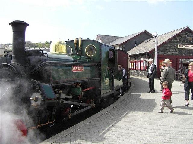 Ffestiniog Railway Porthmadog [Harbour] Railway Station