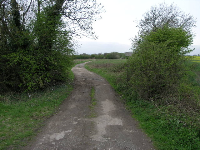 Track to Upper Common Farm