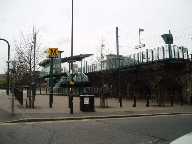 St Peter's Metro Station, Monkwearmouth, Sunderland, 2nd May 2006